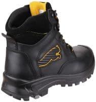 Puma Safety Borneo Mid Boots Safety Black
